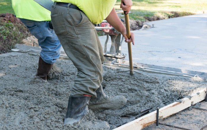 Domestic concrete guides - choosing the best material for your new driveway